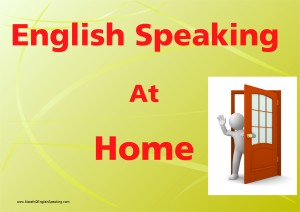 English speaking at home