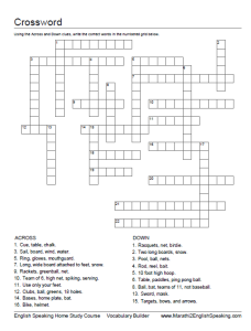 Crossword 2